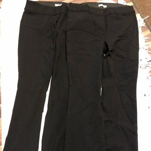New black dress pants!